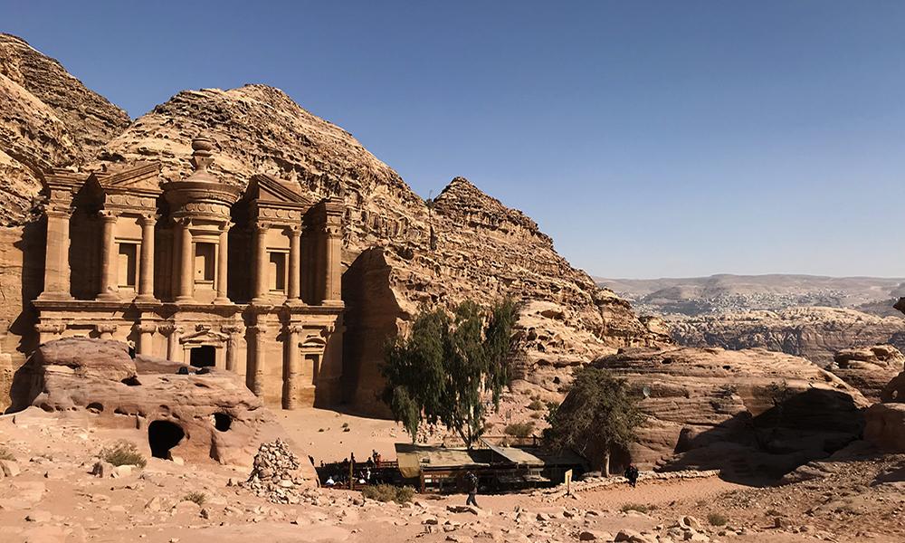 Monumento The Monastery em Petra na Jordania