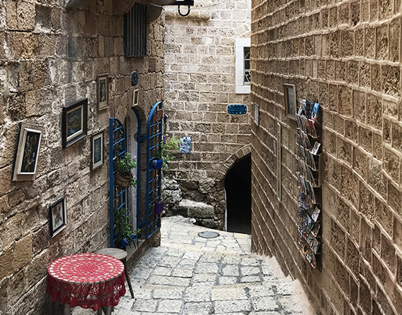 Colors of Yaffo: Tel Aviv's Old Quarter