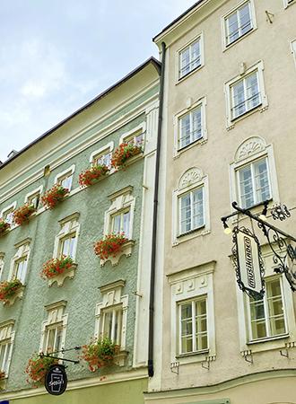 Arquitetura barroca em Salzburgo na Áustria