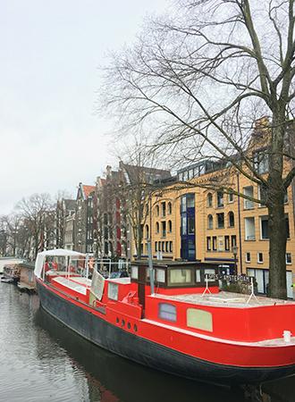 Amsterdam canal Brouwersgracht