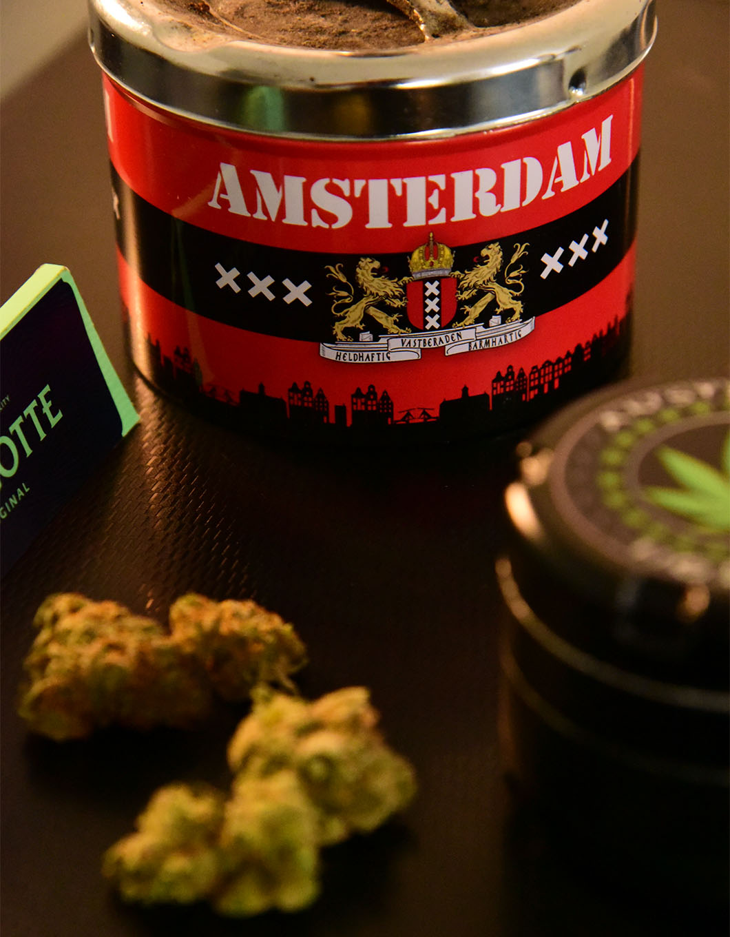 marijuana in amsterdam