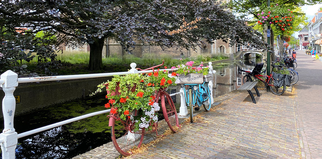 The Dutch and their bicycles