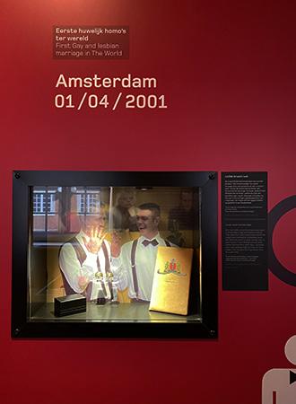 Primeiro casamento homossexual em Amsterdam