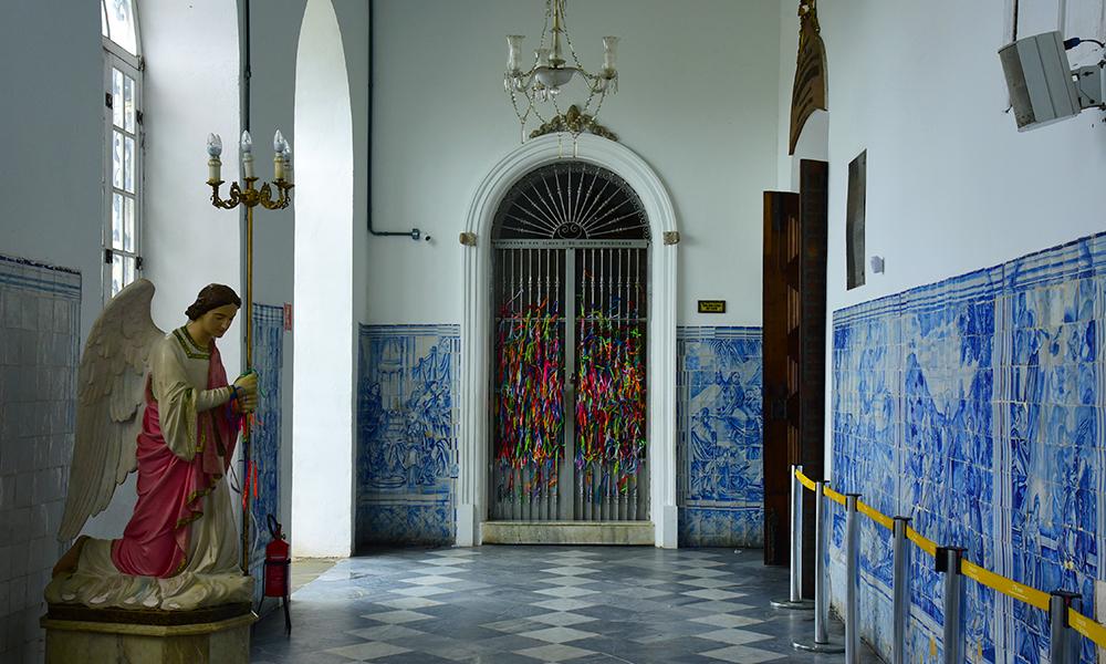 Interior da Igreja do Nosso Senhor do Bonfim em Salvador