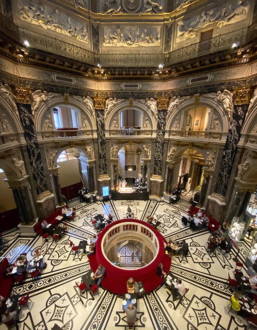 Interior do Museu de História da Arte em Viena