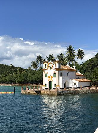 Pequena igreja de Loreto em Salvador