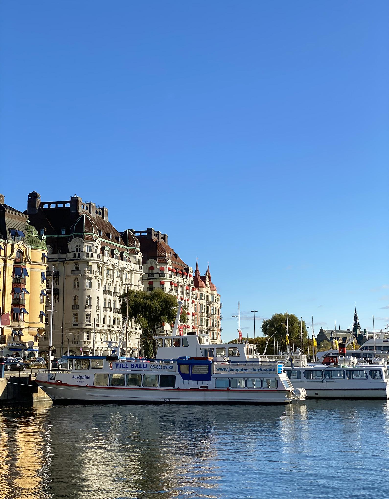 Façade of the Lydmar Hotel in Stockholm