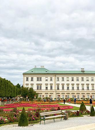 Palácio Mirabell em Salzburgo na Áustria