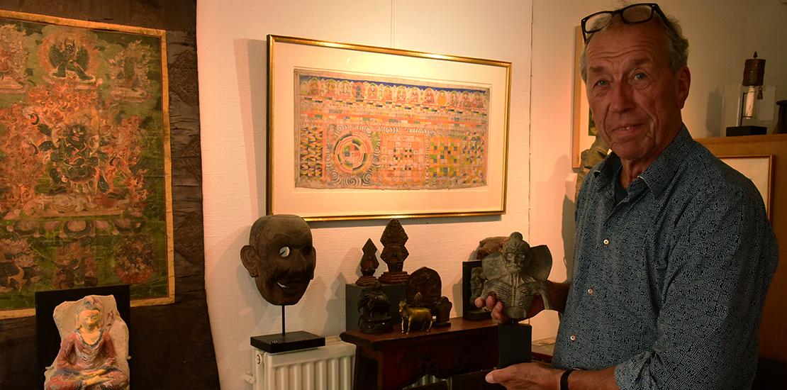 The eccentric nature of a Tibetologist art dealer