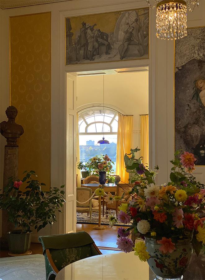 Inside the former house of the Prins Eugens Waldermarsudde in Stockholm