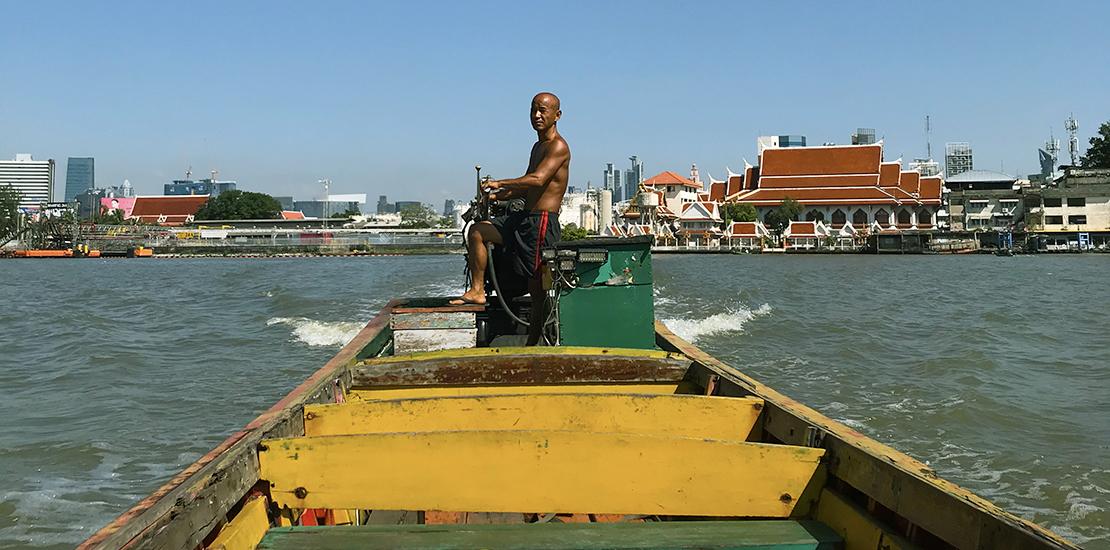 Bangkok: intense yet peaceful