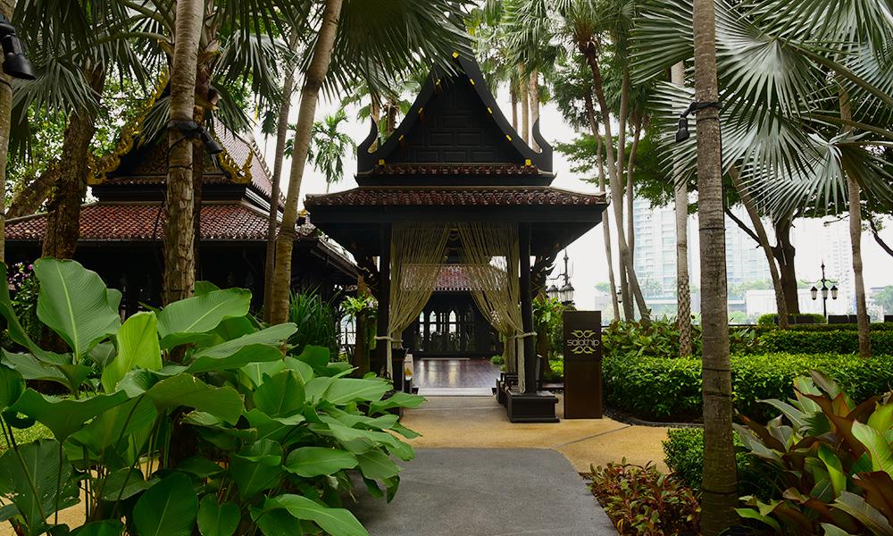 Restaurante Salathip do Hotel Shangrila em Bangkok