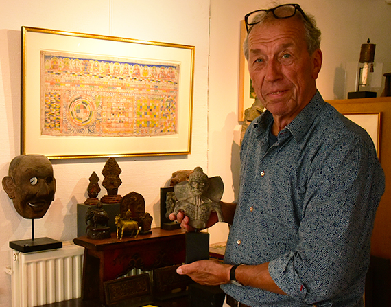 The eccentric and fascinating nature of a Tibetologist art dealer