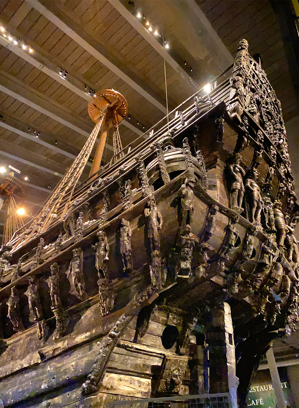 Details of the Vasa boat